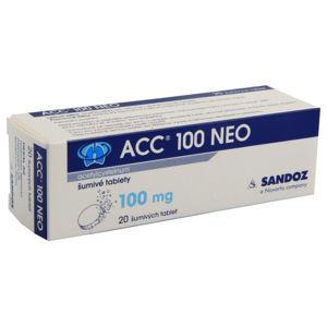 ACC 100 NEO 100MG šumivá tableta 20