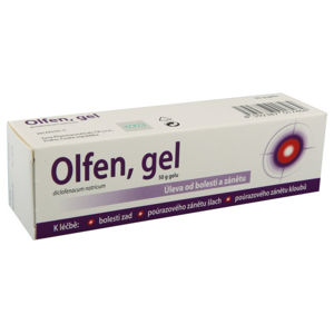OLFEN 10MG/G gel 1X50G