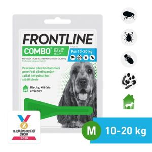 Frontline Combo Spot on Dog M pipeta 1x1.34ml