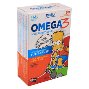 The Simpsons Omega 3+vitaminy D a E cps.60 - II. jakost