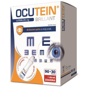 Ocutein Brillant Lutein 25mg DaVinci90+30tob. +dárek - II. jakost