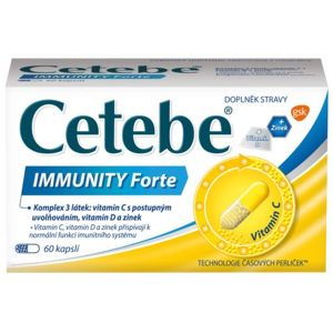 Cetebe IMMUNITY Forte cps.60 - II. jakost