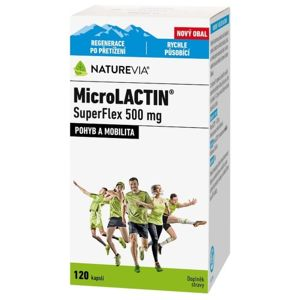 Swiss NatureVia MicroLACTIN SuperFlex 500mg cps120 - II. jakost