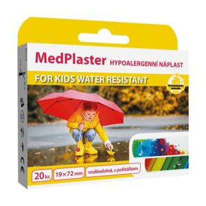 MedPlaster Náplast KIDS water resist.19x72mm 20ks