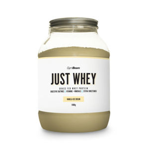 GymBeam Just Whey protein vanilla ice cream 1000g