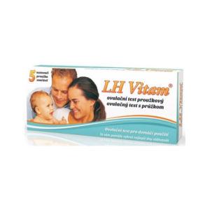 Biotter LH Vitam ovulační test proužkový 5ks