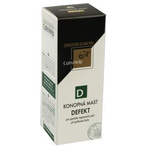 CutisHelp DEFEKT Konopná mast-poškození kůže 50ml - II. jakost