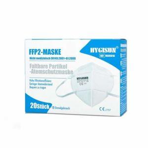 Respirátor FFP2 Hygisun 20 kusů