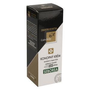 CutisHelp SEBOREA Konopný krém 30ml - II. jakost