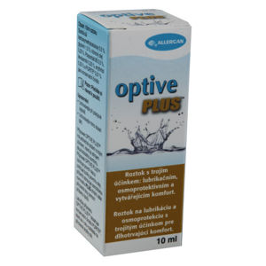 Optive Plus oční kapky 10ml - II. jakost