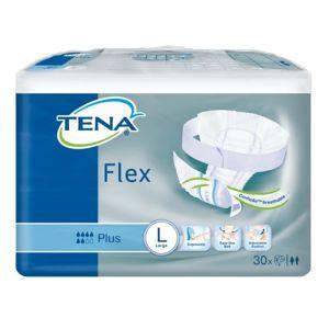 TENA Flex Plus Large - Inkontinenční kalhotky s páskem na suchý zip (30ks) - II.jakost