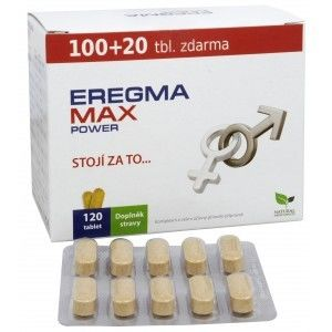 Natural Medicaments Eregma Max Power tbl.120 - II. jakost