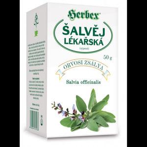 HERBEX Šalvěj lékařská čaj sypaný 50g - II. jakost