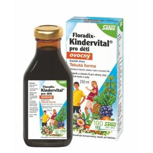Salus Floradix Kindervital Fruity 250ml - II. jakost
