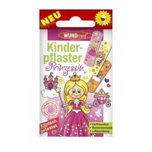 Náplast WUNDmed dětská GIRLS - Princezny 10ks - II. jakost