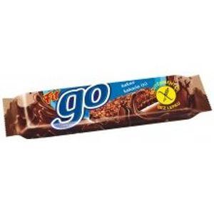 Müsli tyčinka FIT GO čokoládová v čokoládě 23g - II. jakost