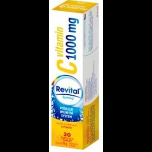 Revital C vitamin 1000mg Citron eff.tbl.20 - II. jakost