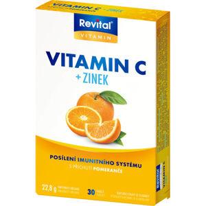 Revital Vitamin C+zinek tbl.30 - II. jakost