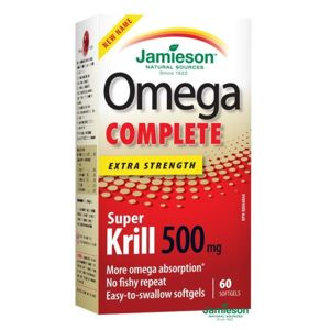 JAMIESON Omega Complete Super Krill 500mg cps.60 - II. jakost