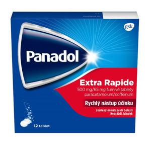 Panadol Extra Rapide 500mg/65mg, 12 šumivých tablet