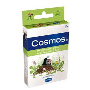 Rychloobvaz COSMOS Dětská náplast s KRTKEM 16ks - II. jakost