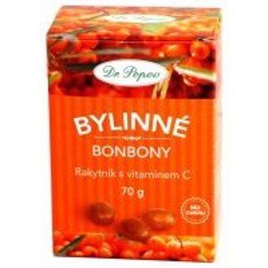Dr.Popov Bonbony Rakytník s vitamínem C 70g - II.jakost