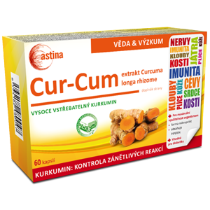 Astina Cur-Cum cps.60 - II. jakost