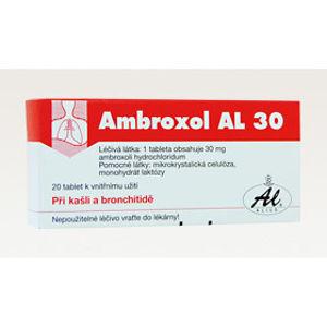 AMBROXOL AL 30MG neobalené tablety 20