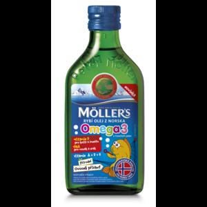 Mollers Omega 3 Ovocná příchuť 250ml - II. jakost