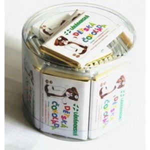 Čokoláda dětská od Dr.Médi 20g 30+3 (belg.mléčná)