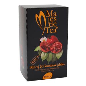 Čaj Majestic Tea Bílý čaj+Granát.jabl. n.s.20x1.5g - II. jakost