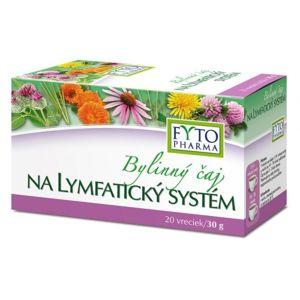 Byl. čaj na lymfatický systém 20x1.5g Fytopharma - II. jakost