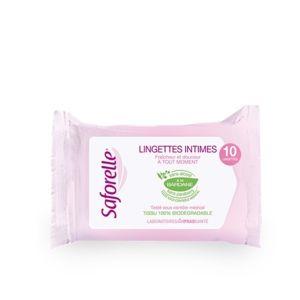 SAFORELLE ubrousky pro intimní hygienu 10ks - II. jakost
