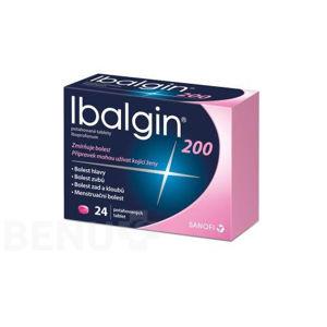 IBALGIN 200MG potahované tablety 24