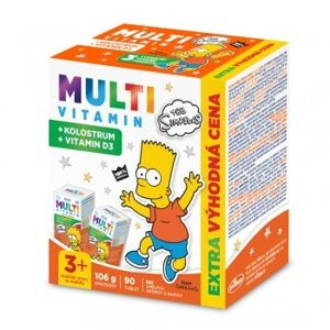 The Simpsons Multivitamin + kolostrum tbl.90 - II. jakost