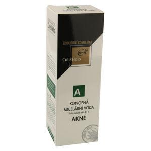 CutisHelp AKNÉ konopná micelární voda 200ml - II. jakost